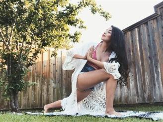 Outdoor Yoga, My Favorite! ❤